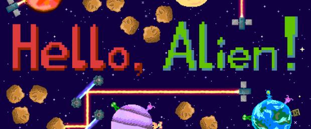 Hello, Alien! - Banner